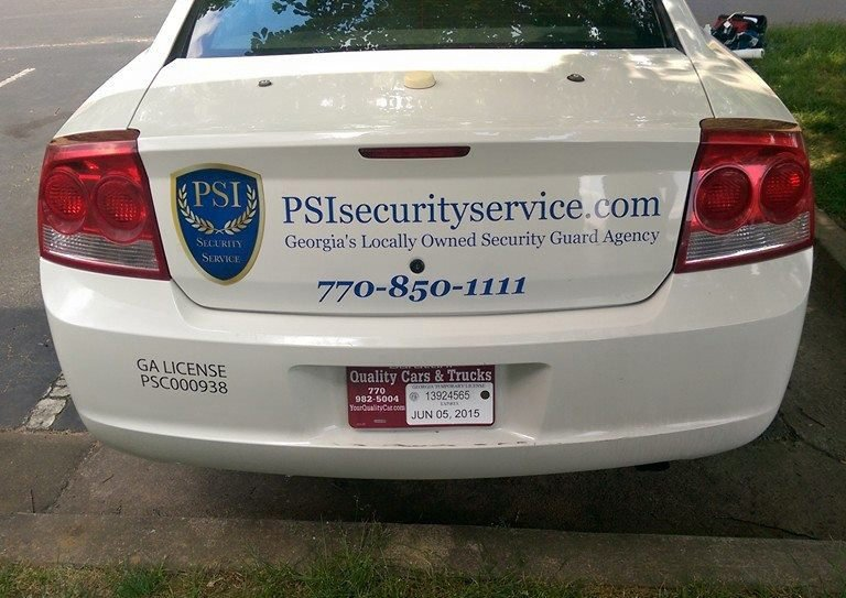 Atlanta private security patrol company
