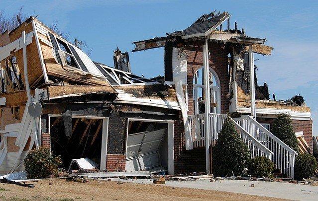 property damages fire panama city